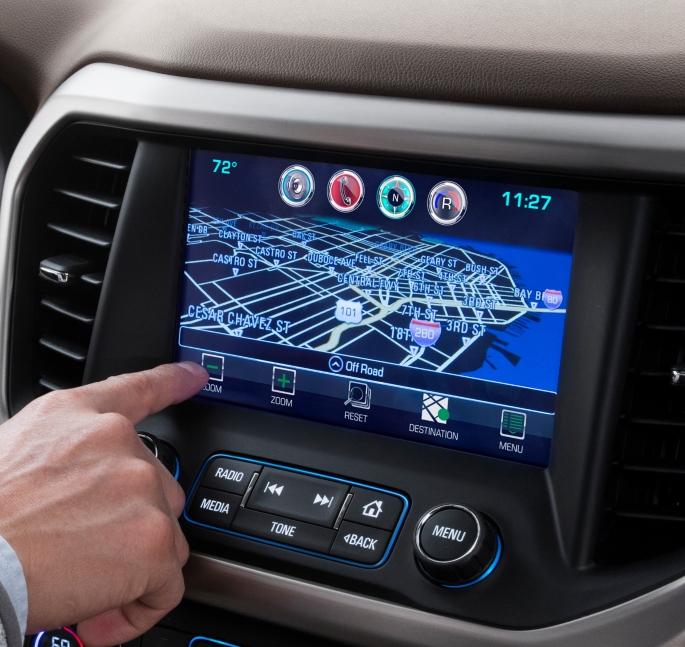 2019-gmc-acadia-navigation-image