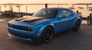 Blue Dodge Challenger >> Dodge Challenger