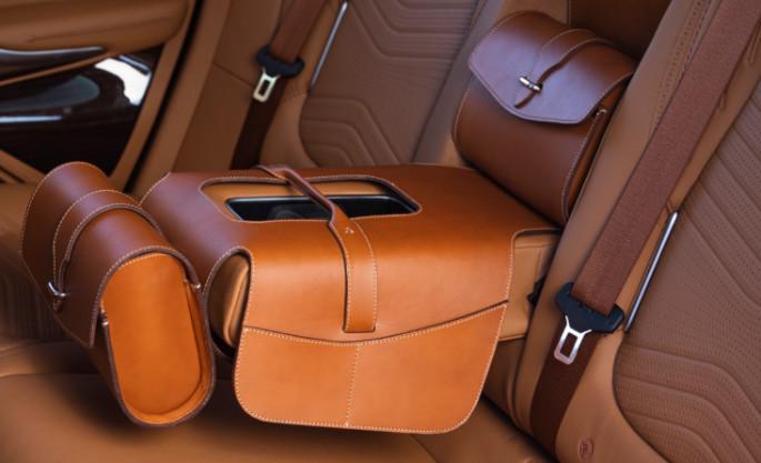Aston Martin DBX 36 Saddle Bag