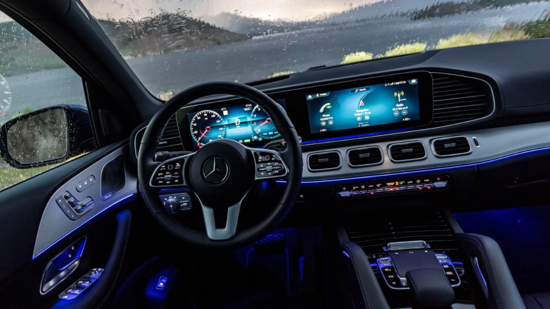 2020 Mercedes GLS interior