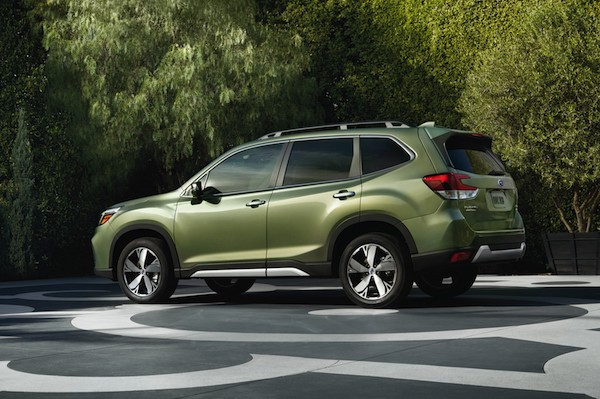 12. 2019 Forester Touring