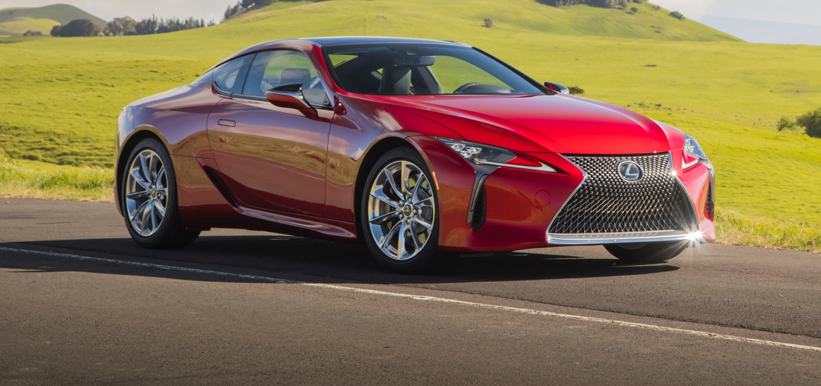 מעולה Review: 2018 Lexus LC500 CC-45