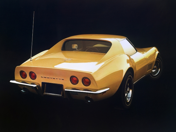 1968 Chevrolet Corvette CX2760-F-0017