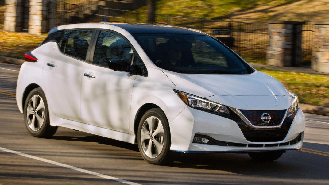 2020 Nissan Leaf In-Depth Photos