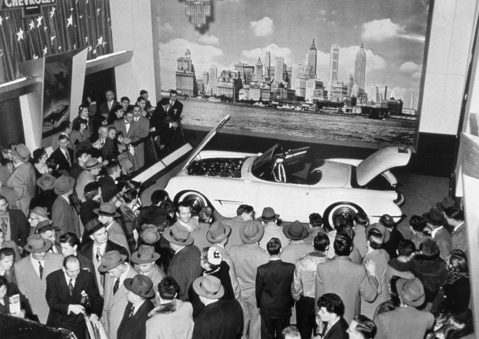 1953 Corvette Motorama Show Car B3729-0279