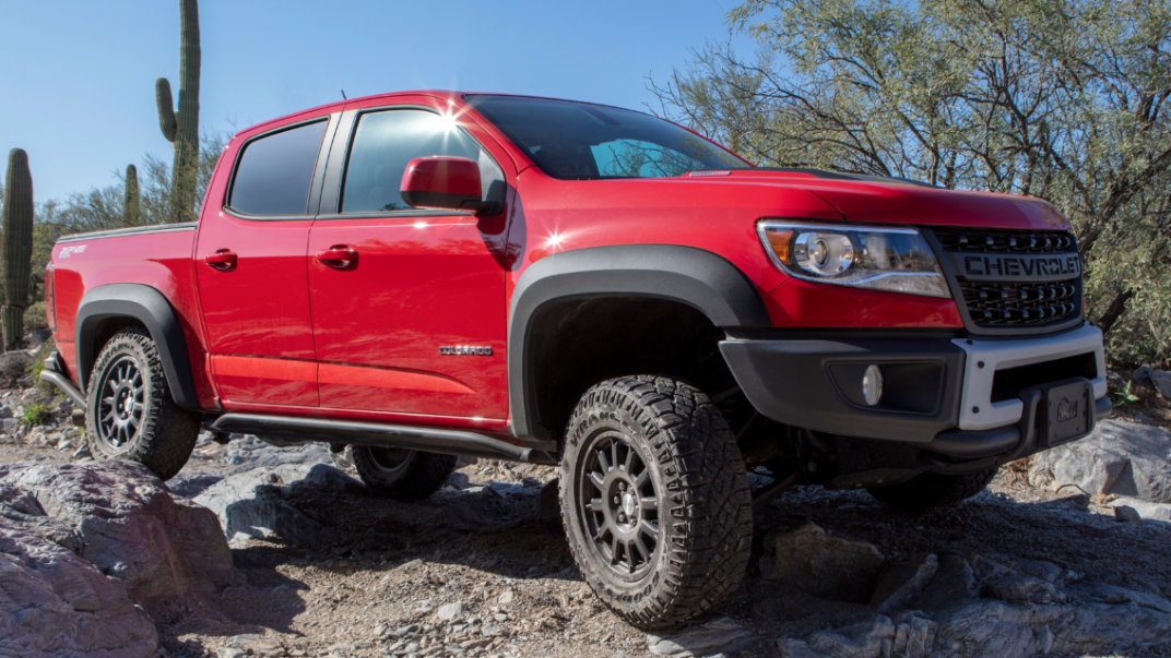 2020 Chevy Colorado In-Depth Photos