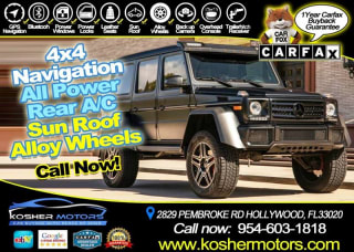 50 Best Used Mercedes-Benz G-Class for Sale, Savings from $3,379